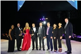 ATLANTIS, THE PALM CELEBRATES DOUBLE WIN AT  THE WORLD TRAVEL AWARDS 2018
