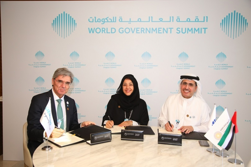 DEWA Signs MoU with Expo 2020 Dubai and Siemens to Kick- off Region's First Solar-Driven Hydrogen Electrolysis Facility