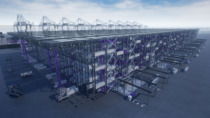 "DP World - New High Bay Container Storage System Launched as ""Boxbay"""