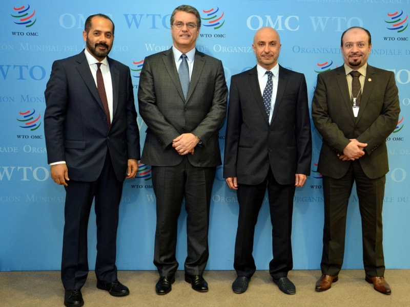 Director General of WTO meets Dr. Al Zarooni, Chairman of World FZO