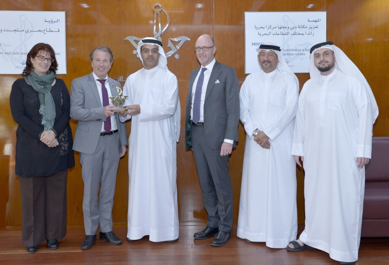 Dubai Maritime City Authority & Hamburg Chamber of Commerce Discuss Maritime Cooperation
